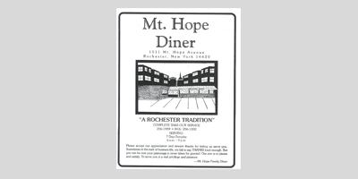 Mt Hope Diner